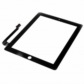 Pantalla tactil Apple iPad 3, iPad 4 negra