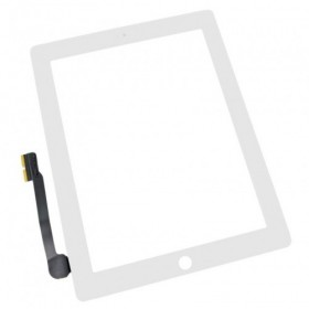 Pantalla tactil Apple iPad 3, iPad 4 blanca