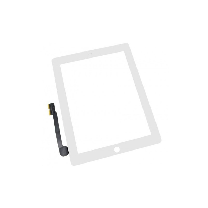 Pantalla táctil Apple iPad 3, iPad 4 blanca
