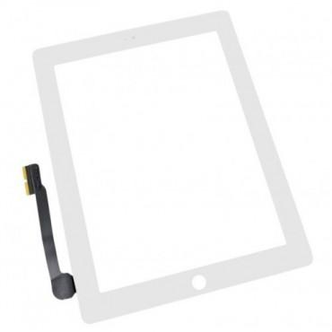 Ecrã tactil Apple iPad 3, iPad 4 branca