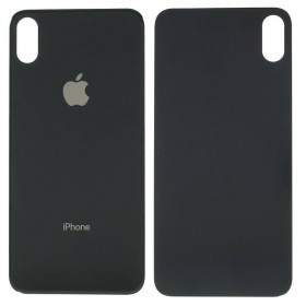 Tapa trasera iphone Xs Max color negro