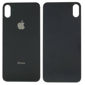 Tapa trasera iphone Xs Max color negro