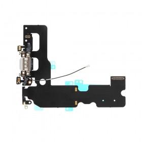 Flex con conector de Carga, Datos, Antena y Microfono para iPhone 7 Plus- Gris