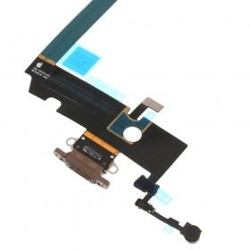 Flex conector de carga iPhone XS Max Negro