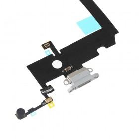 Flex conector de carga iPhone XS Max Cinza