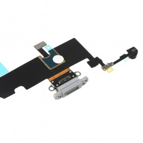 Flex conector de carga iPhone XS Max Gris