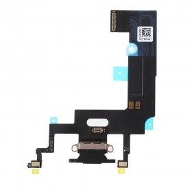 Flex conector de carga iPhone Xr Negro