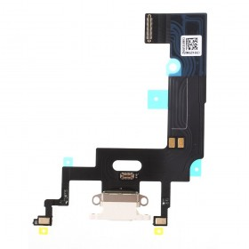 Flex conector de carga iPhone Xr Blanco