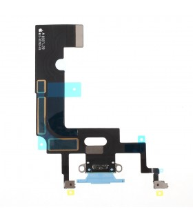 Flex conector de carga iPhone Xr Azul