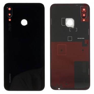 Tapa Trasera + Lente camara Huawei P20 lite/ nova 3e Negra