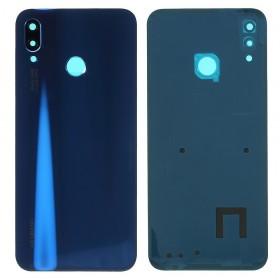 Tapa Traseira + Lente camera Huawei P20 lite/ nova 3e Azul