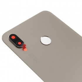 Tapa Trasera + Lente camara Huawei P20 lite/ nova 3e Oro