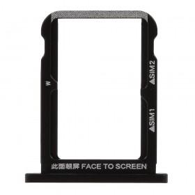 Bandeija Dual SIM Micro SD Xiaomi Mi 6X/ Mi A2 Preta
