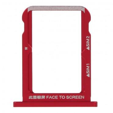 Bandeja Dual SIM Micro SD Xiaomi Mi 6X/ Mi A2 Roja