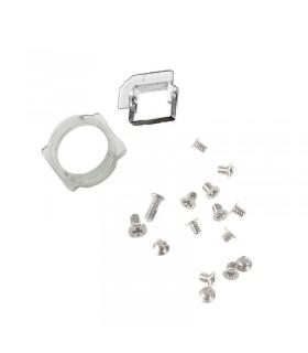 Conjunto parafusos ecra + suportes camera e sensor de proximidade iPhone 6