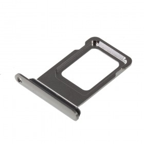 Bandeja Dual SIM iPhone Xs Max Plata