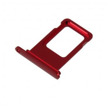 Bandeja Dual SIM iPhone Xr Roja