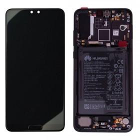 Pantalla completa para Huawei P20 Pro Negra