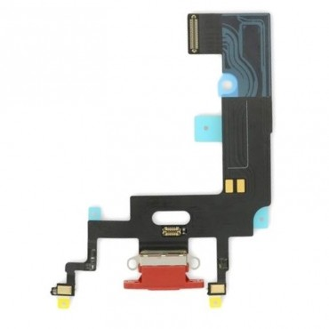 Flex conector de carga iPhone Xr Rojo