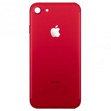 Tapa Trasera para iPhone 8 Rojo