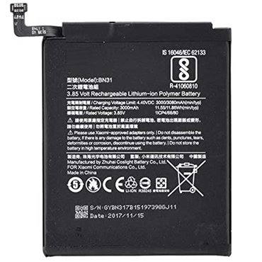 Batería BN31 para Xiaomi Redmi Note 5A/ Mi A1/ Redmi S2