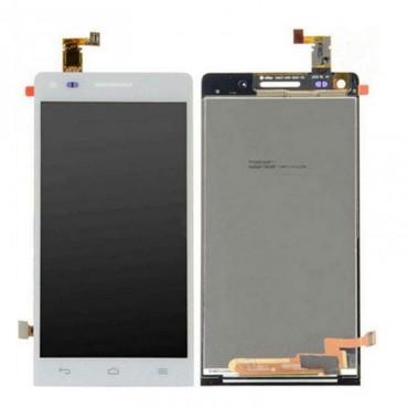 Pantalla completa Huawei G740 orange Yumo blanca