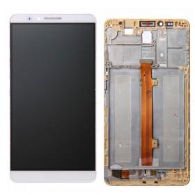Pantalla completa con marco Huawei Ascend Mate 7 Blanco