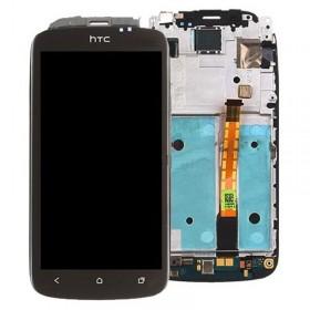 Ecrã completa com marco HTC one s Preto
