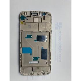 Chasis intermedio de pantalla Huawei Ascend G8 Blanco