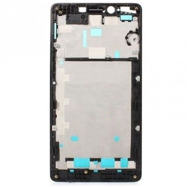 Chasis intermedio de pantalla Xiaomi Redmi Note Negro