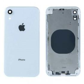 Chasis intermedio con tapa bateria iPhone Xr Blanca