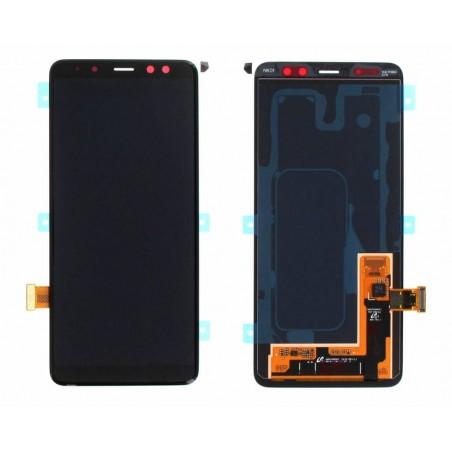 Pantalla completa Samsung A8 2018 A530F Negra
