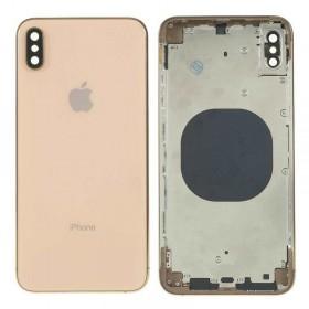 Chasis intermedio con tapa trasera iPhone Xs Oro