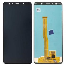 Pantalla completa original SAMSUNG A750FN/DS GALAXY A7 (2018) Negro