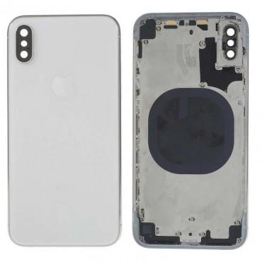 Chasis carcasa tapa bateria iPhone X Blanco