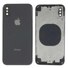 Chasis carcasa iPhone X Negro