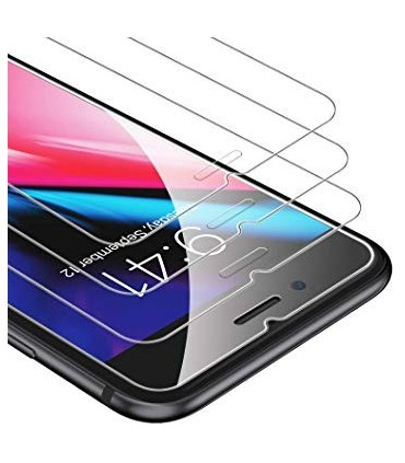 Protector pantalla cristal templado para Apple iPhone 7G