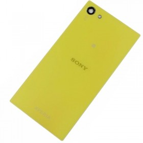 Tapa trasera Sony Xperia Z5 Compact Amarillo/ Verde