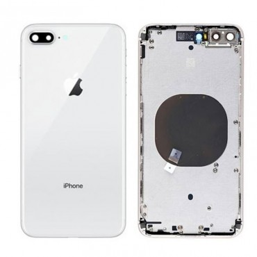 Chasis y tapa trasera sin componente iPhone 8 Plus Blanco