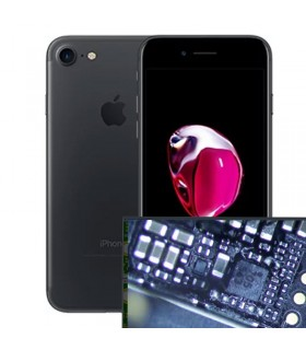 Reparacion Chip iluminacion iPhone 7