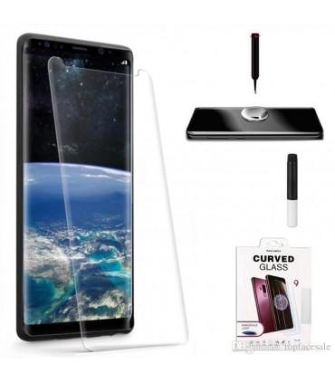 Protector pantalla cristal templado UV Curvo Samsung Galaxy S9