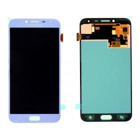 Pantalla completa (digitalizador+ display/pantalla LCD) Plata para Samsung Galaxy J4 2018, J400F