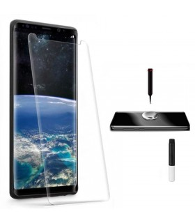 Protector ecrã cristal templado UV Curvo Samsung Galaxy S9 Plus