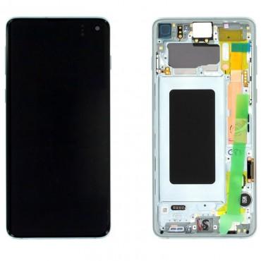 Pantalla completa original Samsung Galaxy S10 G973 Verde