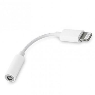 Adaptador auricular jack Iphone Lightning