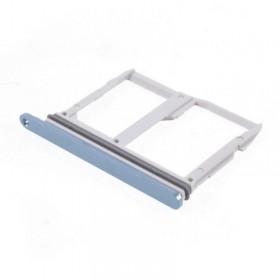 Bandeja SIM Micro SD LG G6 Azul