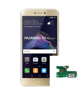 Reparacion Conector de carga Huawei P8 lite 2017