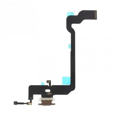 Conector de carga iPhone Xs Oro (marron)