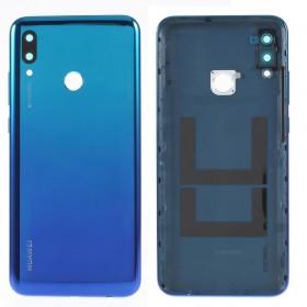 Tapa trasera + lente y botones laterales Huawei Mate 20 Lite Azul Twilight