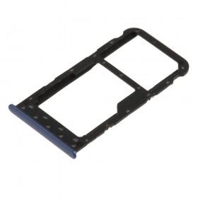 Bandeja Dual SIM Micro SD Huawei P Smart/ Enjoy 7s Azul